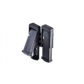 Portacaricatore invertito doppio a strappo per Glock - CAA