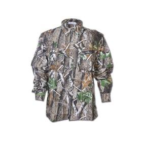 Camicia multitasche in cotone Rip Colore Hardwoods - UDB