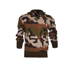 Maglione misto lana 1/2 zip Woodland - UDB