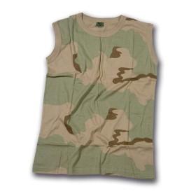 T-shirt canottiera - colore Mimetico - UDB