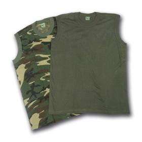 T-shirt canottiera - colore Verde - UDB