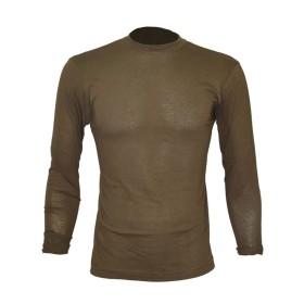 T-shirt cotone manica lunga colore Verde - UDB