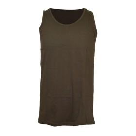 T-shirt canottiera colore Verde - UDB